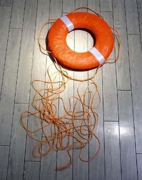 小型船舶用救命浮き輪解説へ